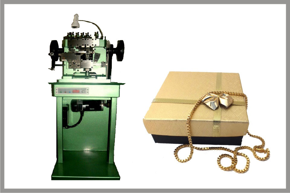 Venetian chain making machines