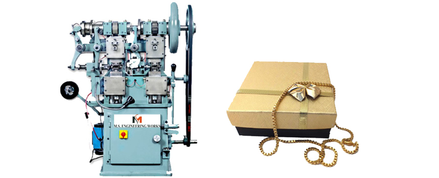 ball chain making machine